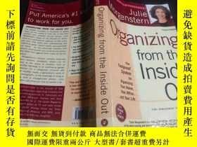 二手書博民逛書店日英法德意等外文原版罕見organizing from the inside out 1998年 小16開平裝