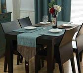歐式餐桌桌旗茶幾餐墊裝飾布桌巾電視櫃西餐桌棉麻隔熱墊碗墊鞋櫃    提拉米蘇