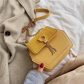 可愛小包包女新款潮時尚韓版洋氣側背小方包斜背包百搭錬條包