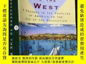 二手書博民逛書店Voyagers罕見to the West. A Passage