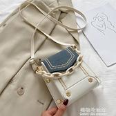 2021秋冬時尚迷你手機小包包韓版學生斜挎包高級感時尚百搭單肩包 美物生活館