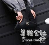 新款韓版休閑商務個性大容量多功能男士手拿包Sq3038 『美鞋公社』