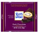 Ritter Sport 50%醇黑巧克力100g