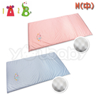 1A2B 科技乳膠床墊(M) -藍/粉