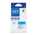 【奇奇文具】愛普生EPSON T177250 NO.177 藍色 原廠墨水匣