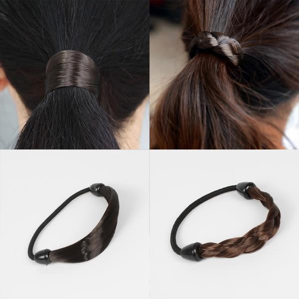 仿真髮髮飾/辮子髮飾(1入) 8款可選【小三美日】