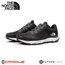 【The North Face 女 FL防水休閒鞋《黑/白》】4OA6/防水透氣野跑鞋/慢跑鞋/健行鞋