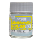 GSI 郡氏 MR.COLOR 組裝模型工具 GX208 GX金屬銀色 硝基漆 油性顏料 TOYeGO 玩具e哥