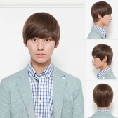 男假髮(整頂短髮)-時尚帥氣蓬鬆逼真男配件3色73fj12【時尚巴黎】