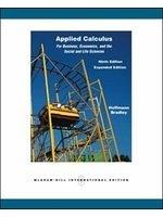 二手書博民逛書店《Applied Calculus for Business,