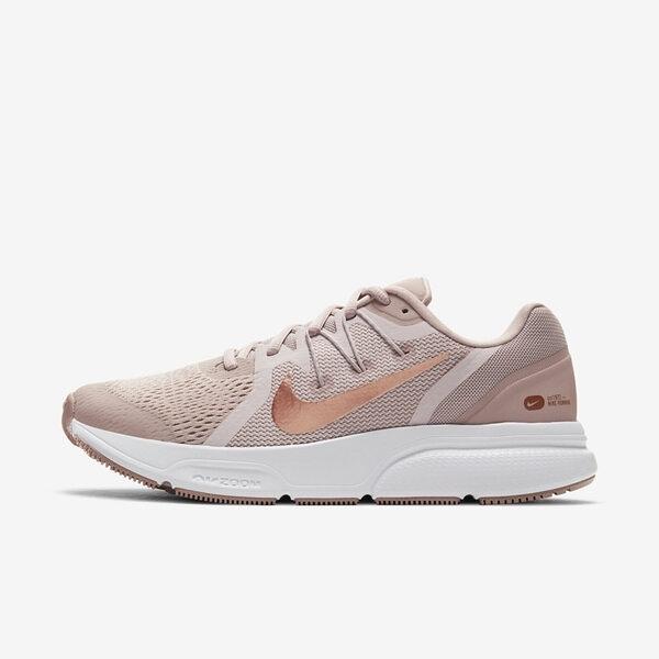 Nike Wmns Zoom Span 3 [CQ9267-200] 女鞋 慢跑 運動休閒 輕量 支撐 緩衝 彈力 粉紅