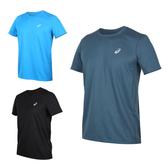 ASICS 男片假名短袖T恤(免運 吸濕排汗 慢跑 路跑 短T 亞瑟士≡體院≡ 2011A866