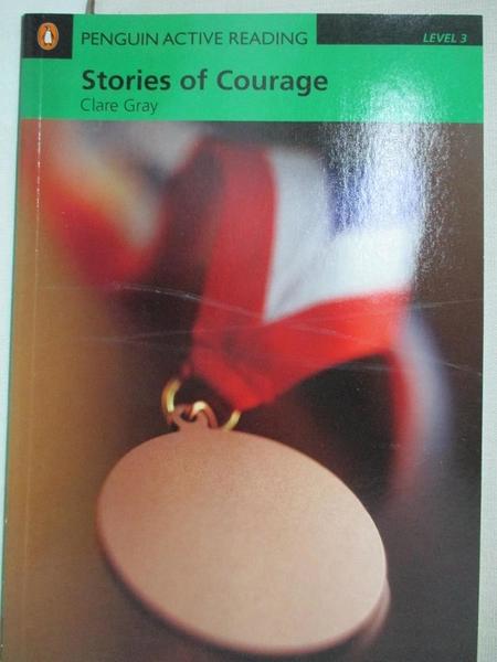 【書寶二手書T1/原文小說_CAG】Stories of Courage with CD-ROM/2片_Clare Gray
