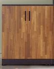 【森可家居】尚恩2.7x3尺雙色鞋櫃 7JF294-1 木紋質感 北歐工業風