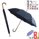 雨傘  ☆萊登傘☆ 超撥水 自動直傘 大傘面120公分 鐵氟龍 Leotern 和風飛鳥