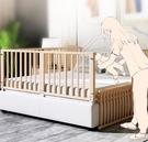 實木嬰兒床護欄掉床圍欄
