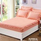 純棉床笠單件全棉席夢思保護套1.8m床防滑床罩1.5米薄棕墊床套夏【果果新品】