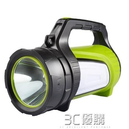 手電筒 強光手電筒多功能超亮防水探照燈充電聚光遠射1000氙氣燈家用戶外 3C優購