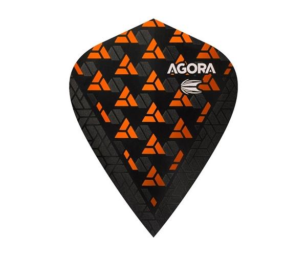 【TARGET】VISION ULTRA GHOST KITE AGORA Orange 332660 鏢翼 DARTS