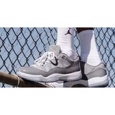 KUMO-Nike Air Jordan 11 Retro Low Cool Grey 灰 白 喬丹 11代 低筒 男鞋