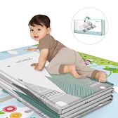 SGS認證寶寶地墊 爬行墊 安全遊戲墊 嬰兒防撞墊 摺疊防水防潮墊 野餐墊(200*180)-JoyBaby