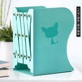 可伸縮書立架摺疊書夾書靠書架擋書板小書架桌上