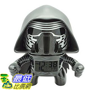 [106 美國直購] BulbBotz 2020749 人偶鬧鐘 星際大戰 Star Wars Light Up Alarm Clocks (7.5 Inches Tall)