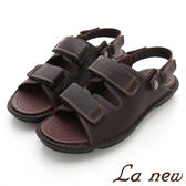 La new  雙密度氣墊涼鞋-男216055120