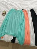 (快出) 流行純色洋氣防曬衫夏季新款女裝韓版網紅Ins很仙的長袖上衫