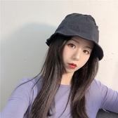 漁夫帽不規則輕薄純色休閒女盆帽4 色73xu30  巴黎