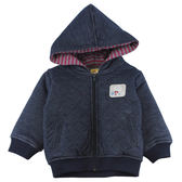 【愛的世界】鋪棉保暖連帽外套/4~6歲-台灣製- ★秋冬外套