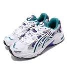 Asics 休閒鞋 Tiger Gel-Kayano 5 OG 白 紫 女鞋 白葡萄 復刻 老爹鞋 運動鞋【PUMP306】 1022A142101