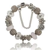 串珠手鍊-歐美時尚精緻水晶飾品流行女配件73kc404【時尚巴黎】