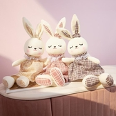 公仔 可愛兔子公仔毛絨玩具女生兔布娃娃抱抱熊睡覺玩偶女孩生日禮物男jy【快速出貨八五折】