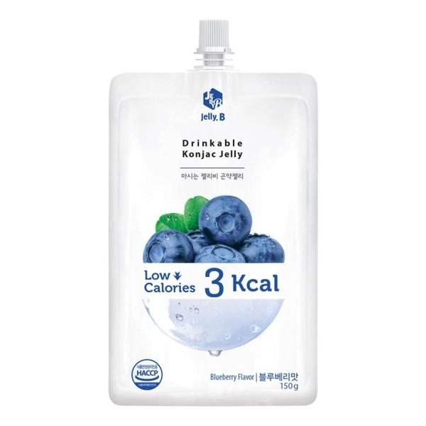Jelly.B 低卡蒟蒻果凍(藍莓味) JE-B150BF