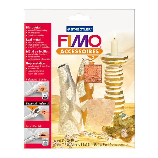 施德樓FIMO軟陶 ACCESSORIES MS8780-26 銅色 軟陶專用裝飾金箔