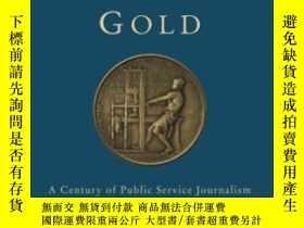 二手書博民逛書店Pulitzer s罕見Gold: A Century Of P