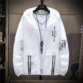 防曬衣男士 薄款外套夏季2020新款戶外速干防曬服韓版潮流男裝夾克 JX3100『男神港灣』