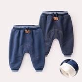 男童牛仔褲寶寶褲子冬裝3男童保暖牛仔褲女1歲兒童棉褲秋冬嬰兒褲子 交換禮物