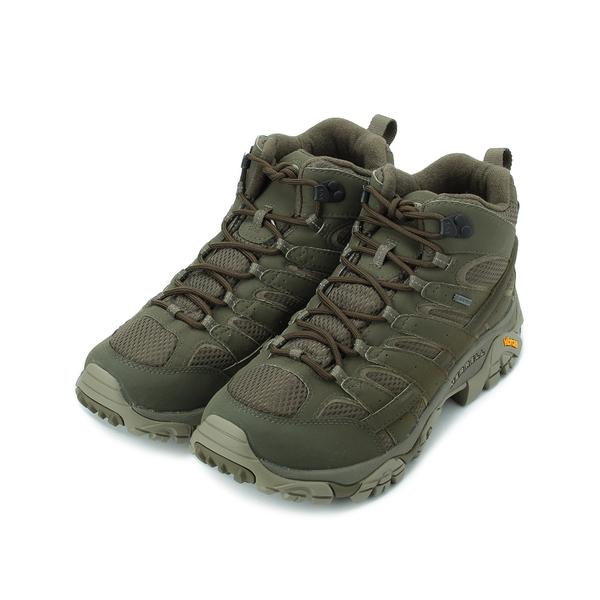MERRELL MOAB 2 MID GORE-TEX 健走鞋登山鞋 軍綠 ML99773W 男鞋 防水│郊山│越野│多功能│戶外