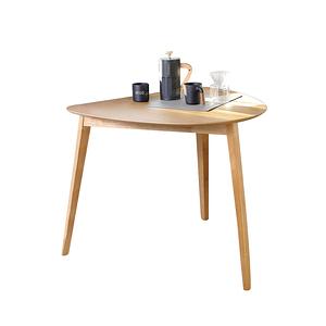 朵琳圓餐桌 淺木色Poppy 80x90x75cm