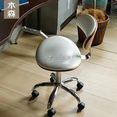 辦公椅 北歐電腦椅簡約家用旋轉書房皮藝辦公椅美式書桌轉椅歐式實木座椅 俏女孩