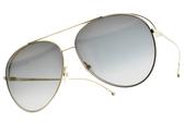 FENDI太陽眼鏡 FF0286S J5GFQ (淡金-漸層灰鏡片) 歐美率性飛官款 # 金橘眼鏡