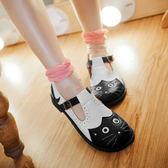娃娃鞋貓貓咪單鞋女洛麗塔lolita軟妹公主女仆cosplay森女英倫制服 雲雨尚品