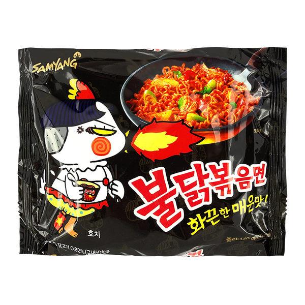 韓國 SAMYANG 火辣雞肉風味鐵板炒麵 140g 辣雞麵 三養 ◆86小舖 ◆