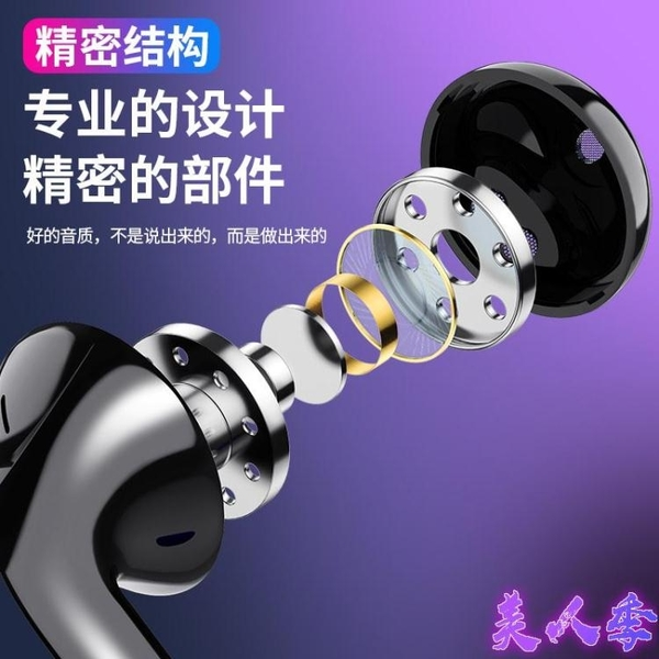 耳機適用華為type-c/p20/p30pro/p10/p9 plus手機