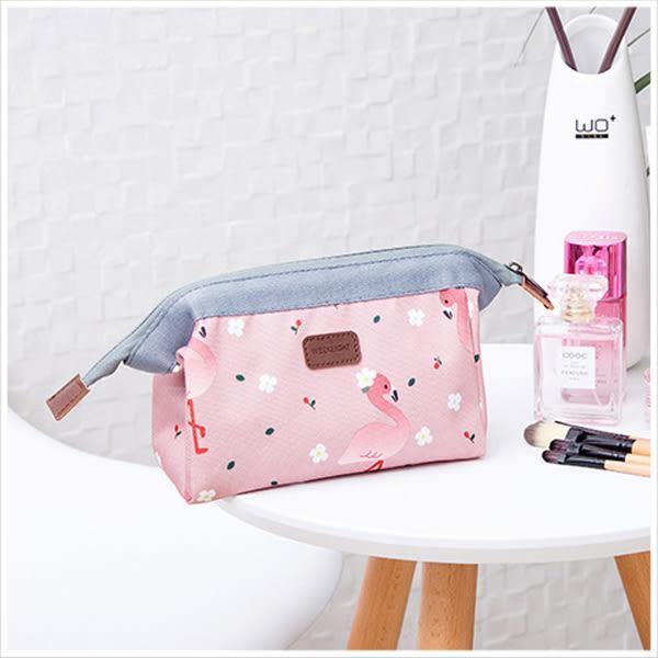 化妝包-自然風格帆布化妝收納袋-共4色-A09090129-天藍小舖