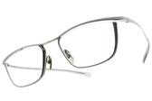 JAPONISM光學眼鏡 JN652 C01 (銀) 紳士流線細框款 平光鏡框 # 金橘眼鏡