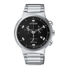 CITIZEN 星辰 光動能 三眼計時腕錶 AT2400-81E_41mm