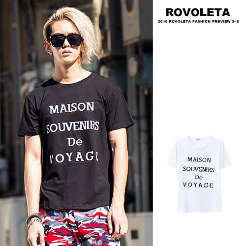 特殊印刷短T【5V-802】(ROVOLETA)